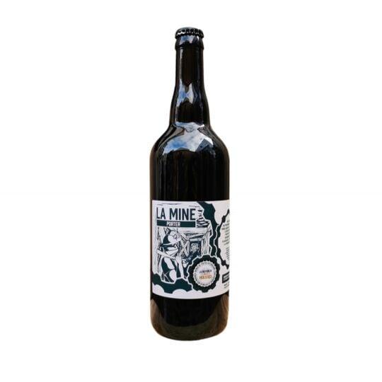 Bière Brune Bio 33cl - La Mine