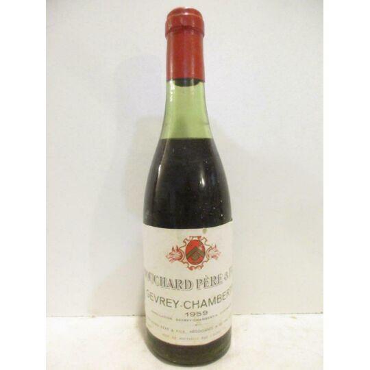 37,5 Cl Gevrey-chambertin Bouchard Père Et Fils (b7) Rouge 1959 - Bourgogne BOUCHARD PÈRE ET FILS