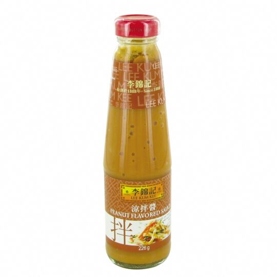 Sauce Saveur Cacahuètes 226g - Marque Lee Kum Kee - 1 Bouteille LEE KUM KEE