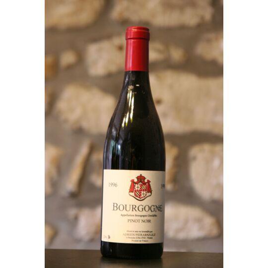 Vin Rouge, Bourgogne Pinot Noir Domaine Adrien Pierarnau 1996