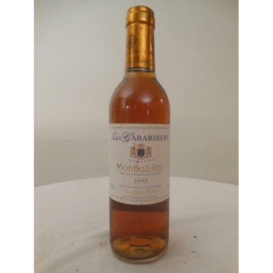 37,5 Cl Monbazillac Boubée Les Gabardiers Liquoreux 1999 - Sud-ouest. BOUBEE