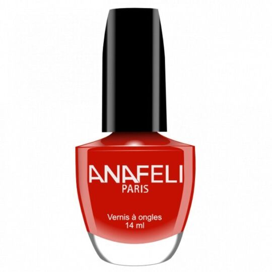 Vernis À Ongles Couleur - 07 Rouge Eclatant ANAF
