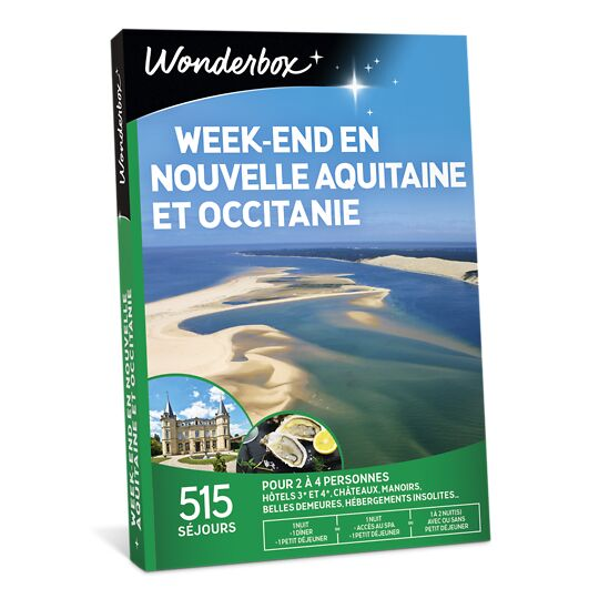 Week-end En Nouvelle Aquitaine Et Occitanie WONDERBOX