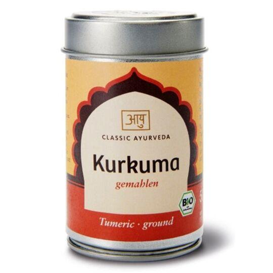 Curcuma en poudre bio épice indienne 50g CLASSIC AYURVEDA