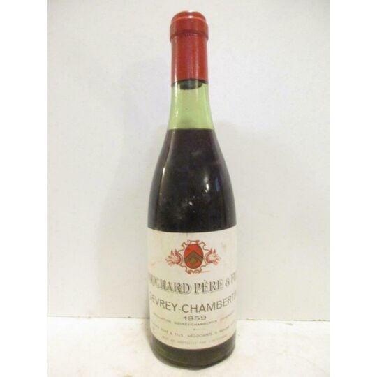 37,5 Cl Gevrey-chambertin Bouchard Père Et Fils (b4) Rouge 1959 - Bourgogne BOUCHARD PÈRE ET FILS