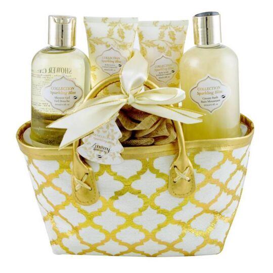 Coffret De Bain Parfum Fleurs Blanches Et Musc - 5pcs GLOSS