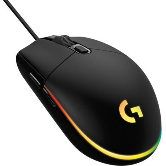 Souris gamer Logitech G203 LIGHTSYNC noire