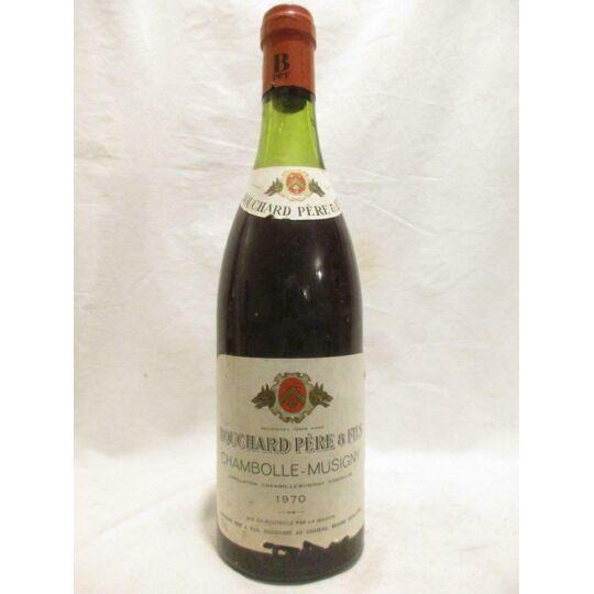 Chambolle-musigny Bouchard Père Et Fils (b2) Rouge 1970 - Bourgogne BOUCHARD PÈRE ET FILS