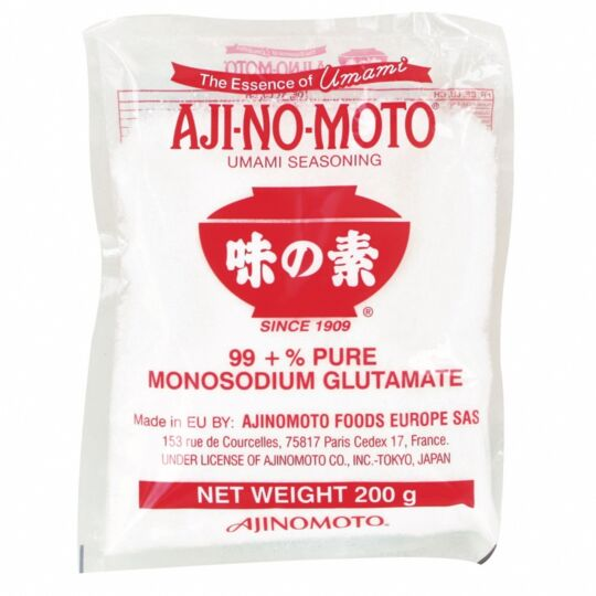 Glutamate Monosodique Pur - Assaisonnement Umami - 200g - 1 Sachet AJINOMOTO
