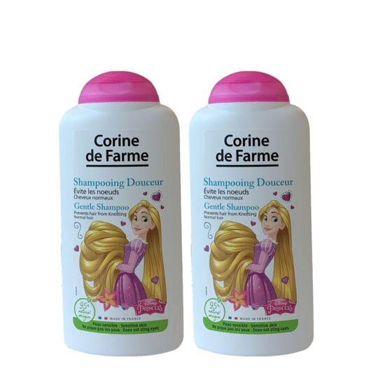 Lot De 2 Shampooings Démêlants Raiponce Disney 250 Ml CORINE DE FARME