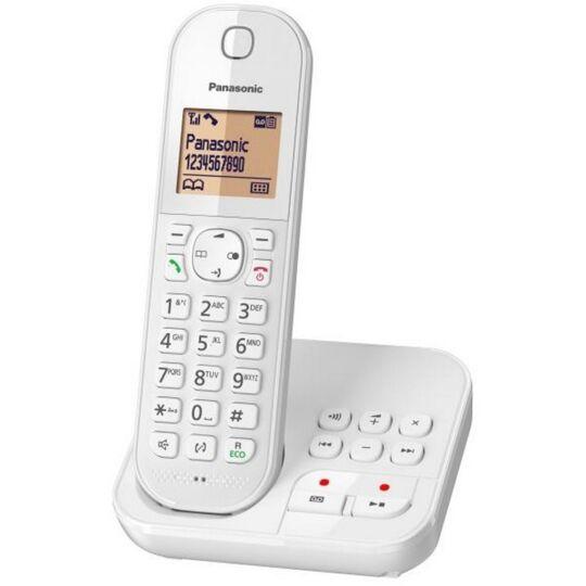 Téléphone fixe sans fil avec répondeur Solo KX-TGC420FRW