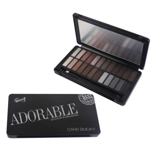 Palette De Maquillage Smoky Noir - 25pcs GLOSS