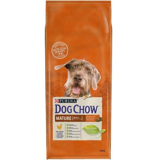 Croquettes Purina Dog Chow Chien Adulte Mature 5+ Poulet 14 Kg - Nouvelle Recette DOG CHOW