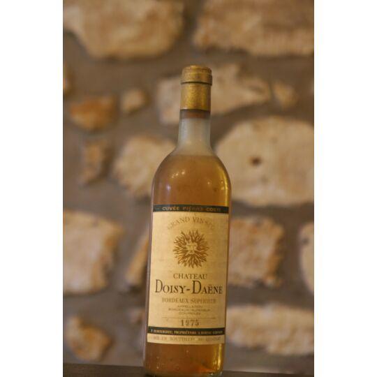 Vin Blanc, Château Doisy Daene 1975