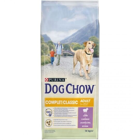 Croquettes Purina Dog Chow Chien Complet Classic Agneau 14 Kg DOG CHOW