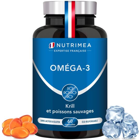 Complément Alimentaire Omega 3 et Krill NUTRIMEA