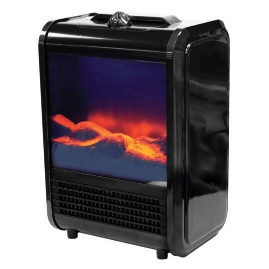 Cheminée électrique mobile Max Heater - CHAUF02 - Noir