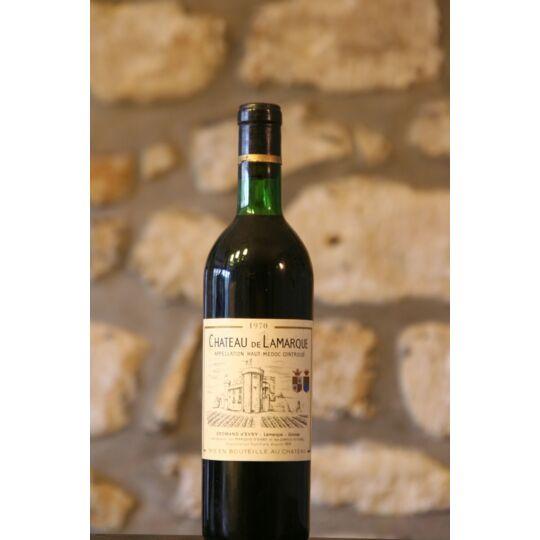 Vin Rouge, Château De Lamarque 1970 1970