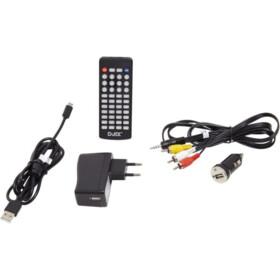 DJIX Lecteur DVD portable - PVS906-20 - Noir