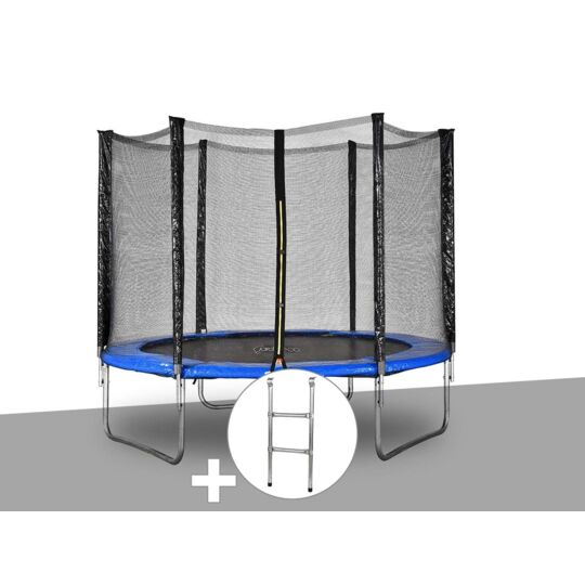 Kit Trampoline Jardideco Atlas Ø 2,44 M Bleu + JARDIDECO