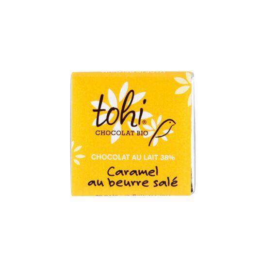 Carrés De Chocolat Bio Lait Au Caramel - Vrac 1800g CHOCOLAT TOHI