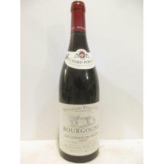 Bourgogne Bouchard Père Et Fils Les Coteaux Des Moines Rouge 2003 - Bourgogne BOUCHARD PÈRE ET FILS