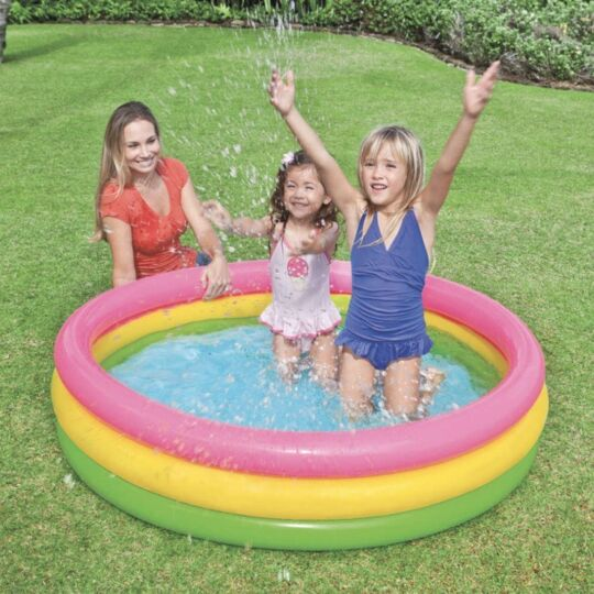 Piscine Gonflable Sunset Glow 147x33 Cm INTEX