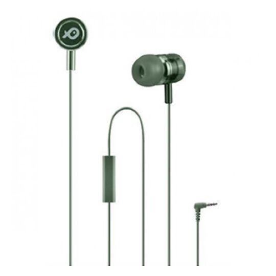 Ecouteurs intra-auriculaire avec micro - PSINTM02GN-18 - Vert