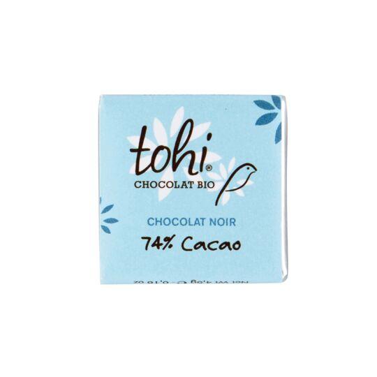Carrés De Chocolat Noir 74% Bio - Vrac 1800g CHOCOLAT TOHI