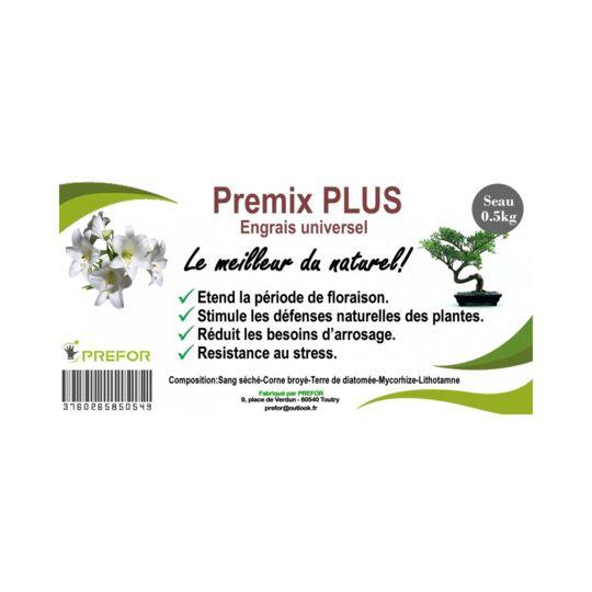 Premix-plus Engrais Universel Pot 500g - Base De Corne Torréfiée Et De Sang De V MARQUE GENERIQUE