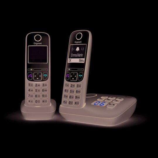 Téléphone sans fil avec répondeur - A635A Duo - Anthracite