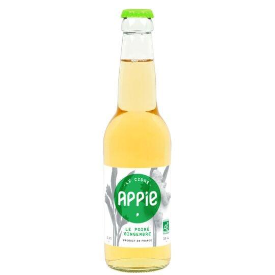 Cidre APPIE - LE POIRÉ GINGEMBRE BIO (3.3%) - 3 x 33cl APPIE