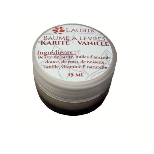 Baume À Lèvres Karité - Vanille LAURIK