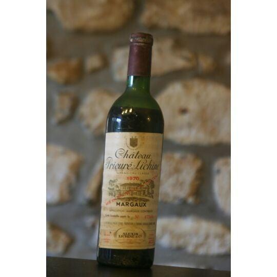 Vin Rouge, Château Prieure Lichine 1970 1970