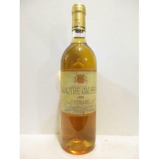 Cadillac Château Lamothe Gaussem Liquoreux 1995 - Bordeaux