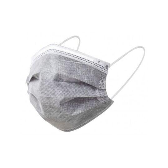 Masques Chirurgicaux Type 1 Couleur Gris - Boite De 50 Pieces