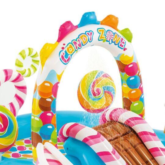 Aire De Jeux Gonflable Bonbons INTEX