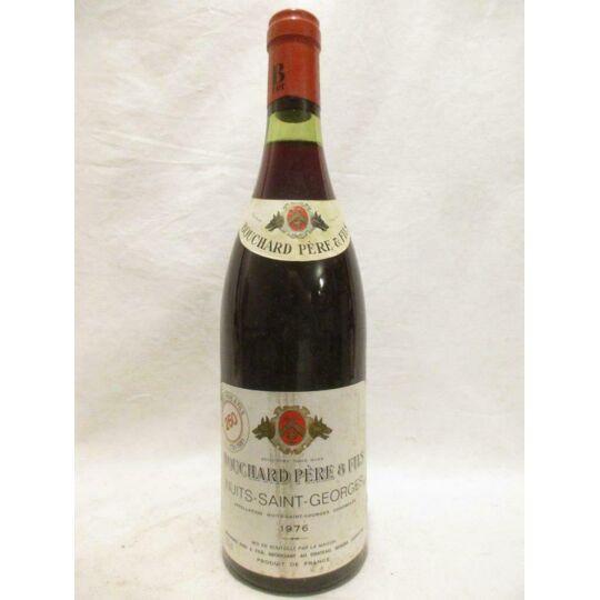 Nuits Saint-georges Bouchard Père Et Fils Rouge 1976 - Bourgogne BOUCHARD PÈRE ET FILS