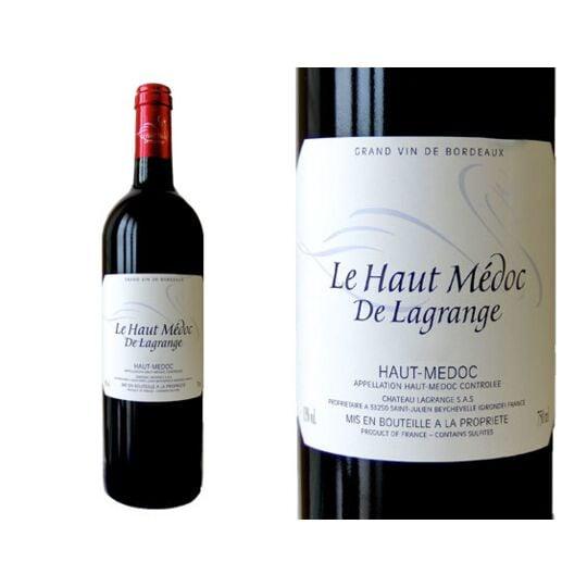 Haut-médoc De Lagrange 2012 - Vin  Rouge