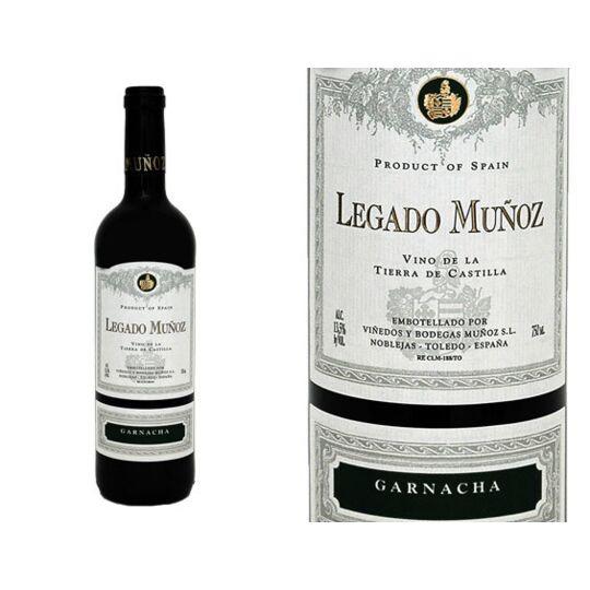 Legado Munoz Garnacha 2018 - Vin  Rouge