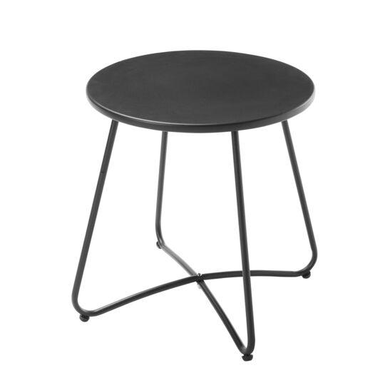Table basse ronde - Noir