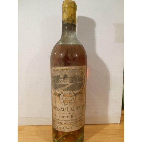 Cadillac Château Lauretan Liquoreux 1947 - Bordeaux.