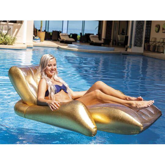 Chaise Longue De Piscine Lounge Gold - INTEX