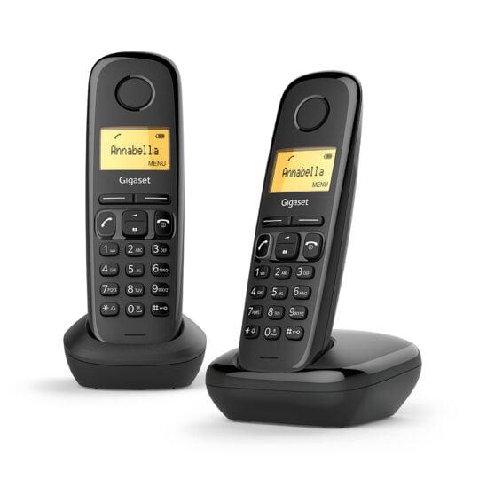 Téléphone sans fil Duo A170 - Noir