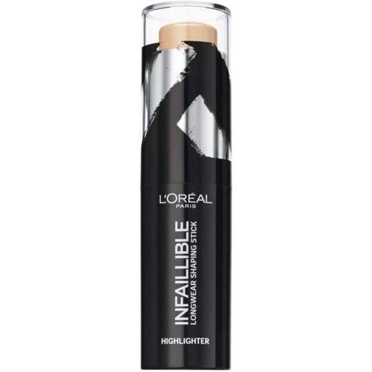 L'oréal Paris Infaillible Stick Enlumineur 502 Gold Is Cold L'ORÉAL PARIS