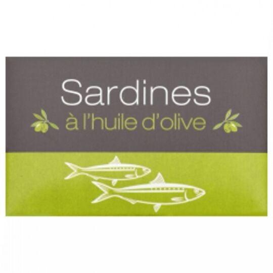 Sardines À L'huile Olive - Maroc - Conserve 125g AGIDRA