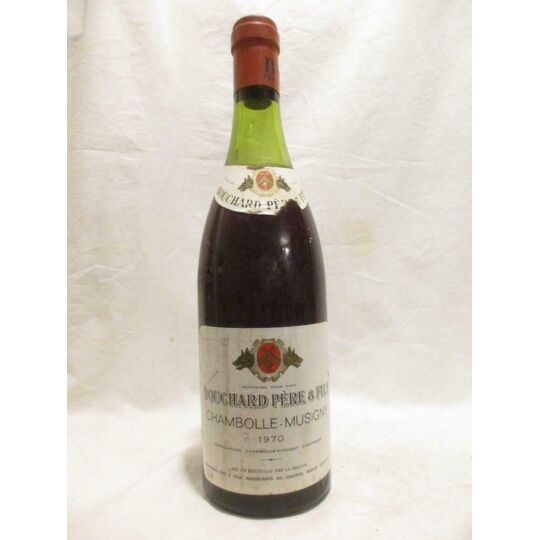 Chambolle-musigny Bouchard Père Et Fils (b1) Rouge 1970 - Bourgogne BOUCHARD PÈRE ET FILS