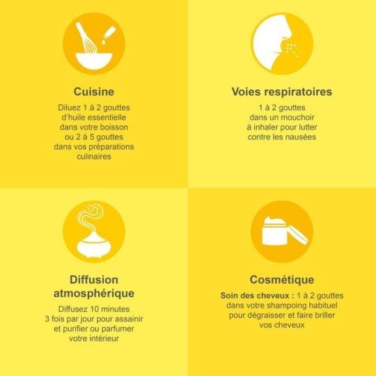 Huile Essentielle Bio Citron - 30ml MEAROME