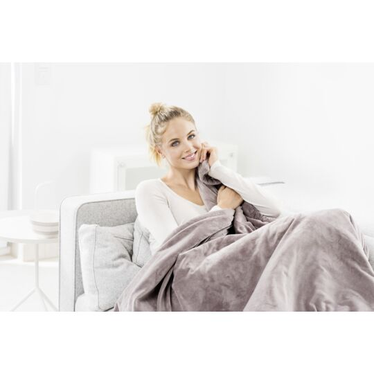 Couverture chauffante extra cosy Beurer HD 75 Gris