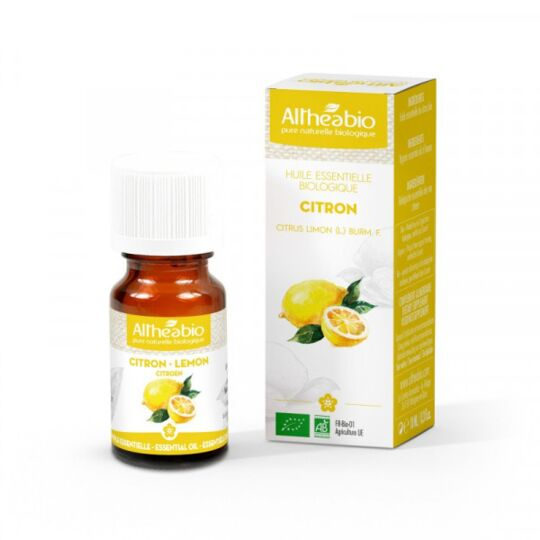 Huile Essentielle Citron Bio - 50 Ml ALTHÉABIO